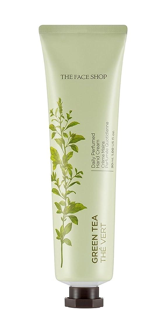 ジュラシックパーク地平線偏差THE FACE SHOP Daily Perfume Hand Cream [05. Green tea] ザフェイスショップ デイリーパフュームハンドクリーム [05.グリーンティー] [new] [並行輸入品]