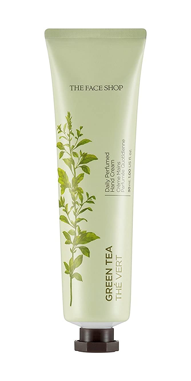 フリンジパキスタン人競争THE FACE SHOP Daily Perfume Hand Cream [05. Green tea] ザフェイスショップ デイリーパフュームハンドクリーム [05.グリーンティー] [new] [並行輸入品]
