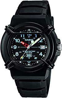 Casio Casual Analog Display Quartz Watch For Men Hda-600B-1B, Black Band