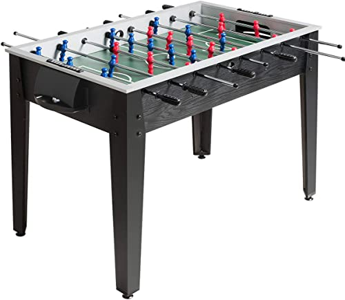 lowest Giantex 48'' Foosball Table, Wooden Soccer Table Game w/Footballs, Suit for 4 Players, Competition Size Table Football for Kids, Adults, Football Table outlet online sale for Game outlet sale Room, Arcades sale
