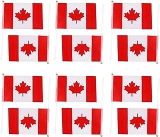 IPOTCH 12 Unidades Banderas Nacionales Pequeñas con Agujas de Mano