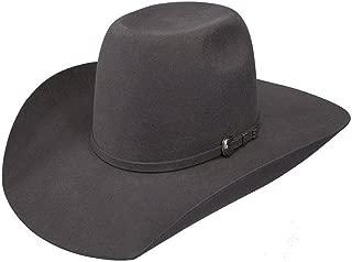 Boys Kid s 2X Pay Window 4 Brim Pre Creased Cowboy Hat OS Grey