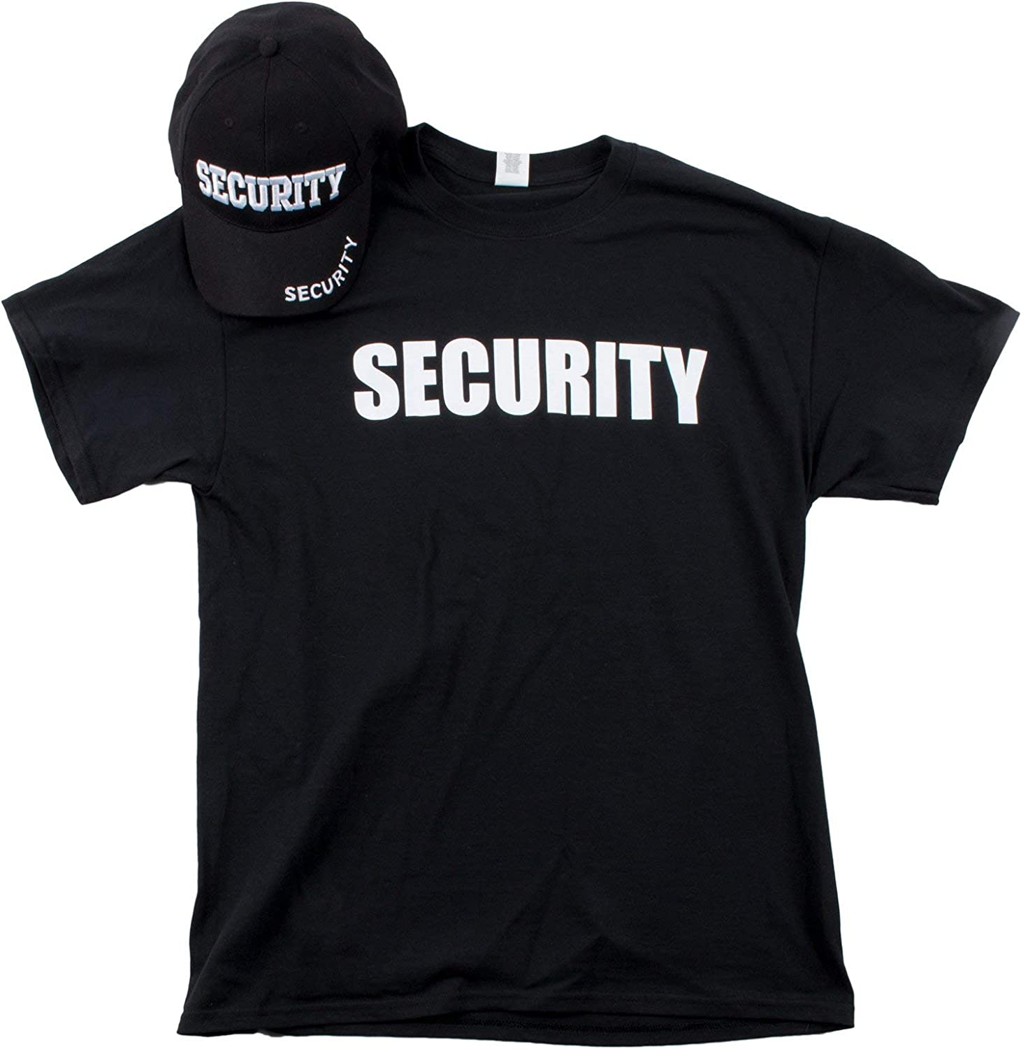 Security Hat T-Shirt Bundle Industry No. 1 Officer Matching Ranking TOP14 Guard