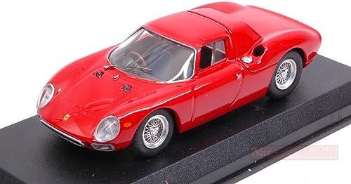 BEST MODEL BT9008-2 FERRARI 250 LM 1964 rouge 1 43 MODELLINO DIE CAST MODEL