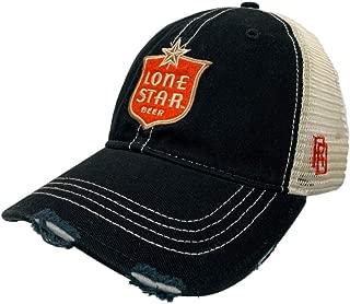 Lone Star Beer Retro Brand Vintage Mesh Hat Cap