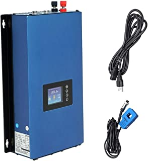 ECO-WORTHY 1000W Solar on Grid Tie Inverter Power Limiter MPPT PV System DC 45-90V to AC90-140v