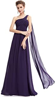 Ever-Pretty Women's Formal One-Shoulder Maxi Evening Gown...