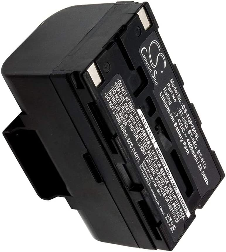 Discount is also Max 60% OFF underway Replacement for Topcon BT-66Q Battery BT - Compatible Fully with