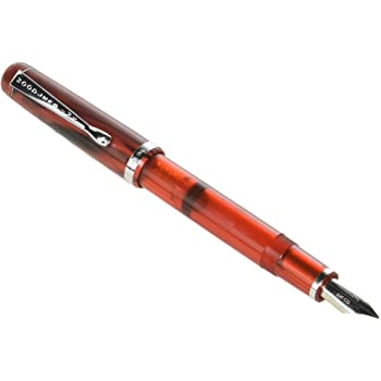 Noodler's Ink Konrad Flex Nib Cardinal Darkness Piston Fill Fountain Pen