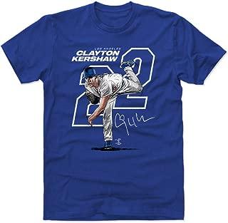 500 LEVEL Clayton Kershaw Shirt - Los Angeles Baseball Men's Apparel - Clayton Kershaw Offset
