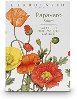 L'ERBOLARIO Papavero Soave Sweet Poppy Perfumed Sachet for Drawers