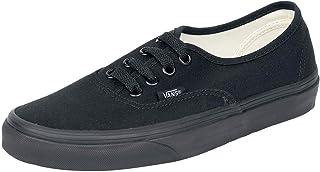 Vans Authentic Classic, Unisex Adult Low Top Lace-up Trainers, Black/black, 4.5 UK (37 EU)