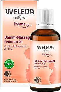 WELEDA Damm Massageöl, Naturkosmetik Schwangerschafts- und Körperöl zur Erhöhung der Elastizität der Haut und Vorbeugung v...