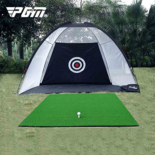 PGM 3 in 1 Golf Practice Net Hitting Game