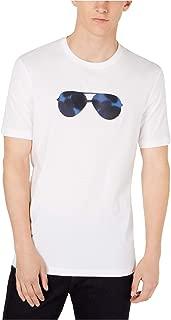 Michael Kors Mens Smokey Camo Aviator Graphic T-Shirt