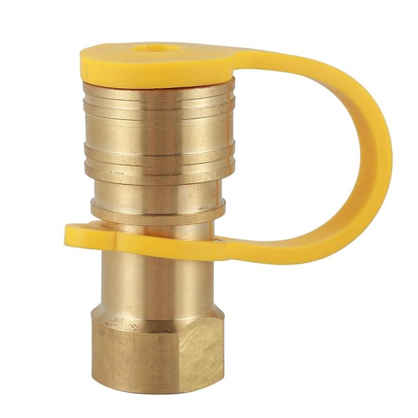保護する敬カロリーNrpfell 天然ガスクイックコネクトフィッティング3/8インチメスパイプスレッド x 3/8インチオスフレアクイックコネクト天然ガス用コネクトクイックコネクトホースキット