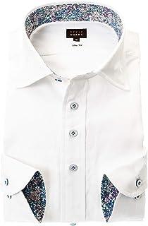 ワイシャツ ワイドカラー メンズ|RWD126-001