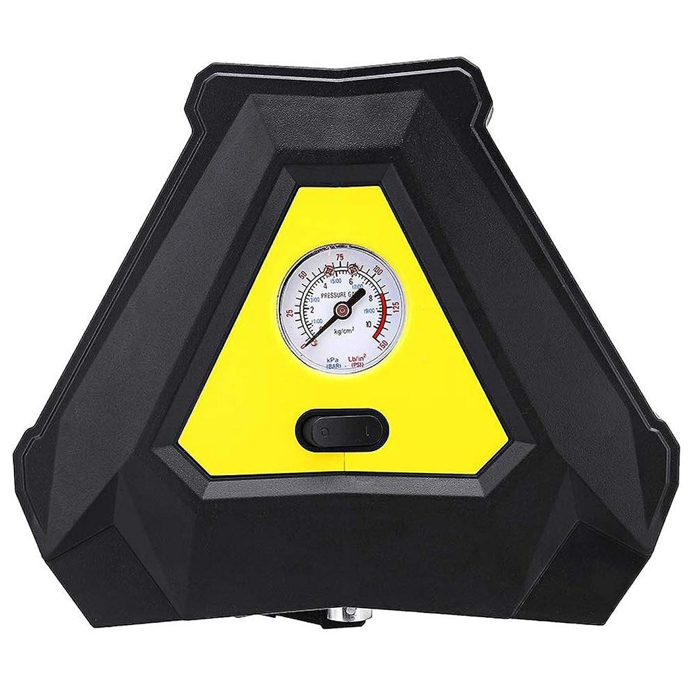 書き込み植物学フィードバックSemoic 携帯用空気タイヤのインフレーター、車および家のための車の空気ポンプ 車12Vの空気ポンプ 理性的な電気緊急のタイヤの圧縮機ポンプ