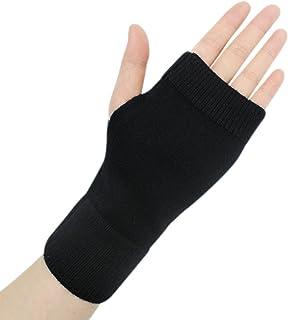 Lightweight Half Fingerless Mittens Thumb Hole Warm Gloves for Women