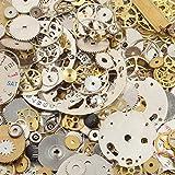Surepromise One Stop Solution for Sourcing Set de Steampunk Mecanismos Reloj 50 gr. Manualidades para Joyería Accesorios Vintage
