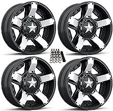 XS811 Rockstar II UTV Wheels/Rims White/Black 20