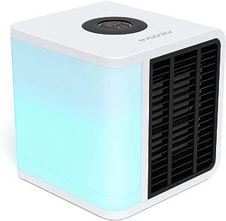 Evapolar EvaLIGHT Plus EV-1500 Refrigerador de aire evaporativo personal y humidificador/aire acondicionado portátil, color blanco