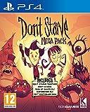 Playstation 4 - jeu d'aventure 1X disque de jeu Le méga pack comprend: ne pas mourir de faim, ensemble, le règne des géants dlc, des naufragés et une skin de contrôleur