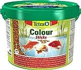 *Tetra Pond Colour Sticks – Fischfutter für Teichfische, für natürliche Farbenpracht und klares Wasser, versch. Größen