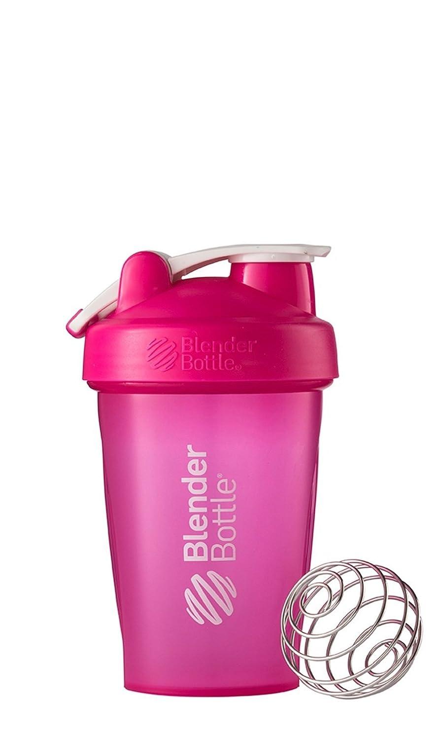 放射能大邸宅どこでもBlender Bottle(ブレンダーボトル) Blender Bottle Classic w/Loop PINK/PINK 20オンス(600ml) [並行輸入品]