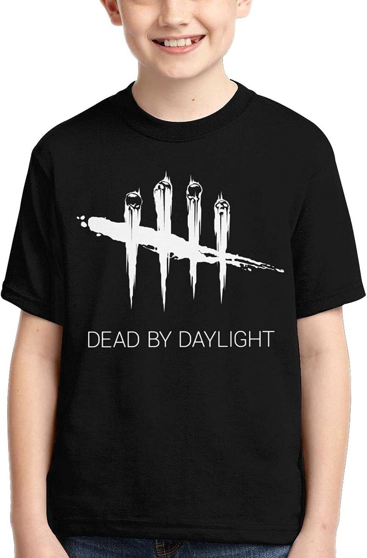 Dead by Daylight Shirt Kids Anime T-Shirt Crew Neck T Shirt Tops