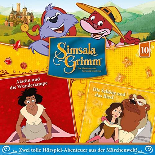 Aladin und die Wunderlampe / Die Schöne und das Biest Titelbild