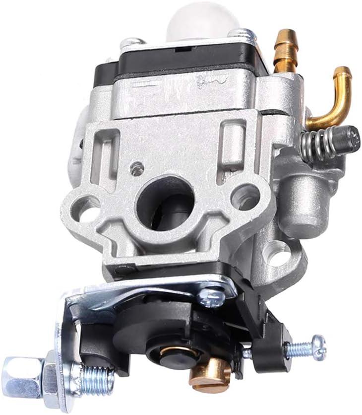 DROHOO Carburador de 2 Tiempos Kit de carburador de 10 mm para Bicicleta de Bolsillo de Scooter de Gas Kragen Zooma de 33CC 36CC