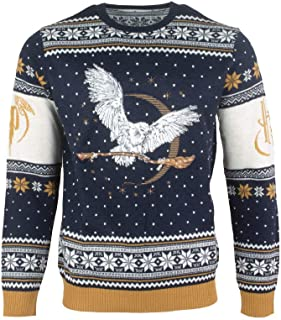 Ugly Christmas Sweater Hedwig for Men Women Boys and Girls