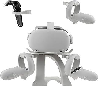 Elygo VR Stand pour Oculus Quest 2/Oculus Quest/Oculus Rift S/Oculus Go/Valve Index/HTC Vive/HTC Vive Pro Support d'Affich...