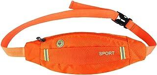 Men Women Outdoor Sport Running Cycling Gym Waist Belt Bag Nylon Pack
