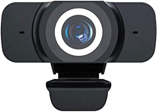 1080P PC Webcam with Mic, USB Camera Computer HD Streaming Webcam, Recording Video Conference/Online Teaching Webcam for Video Conferencing,Live Broadcast