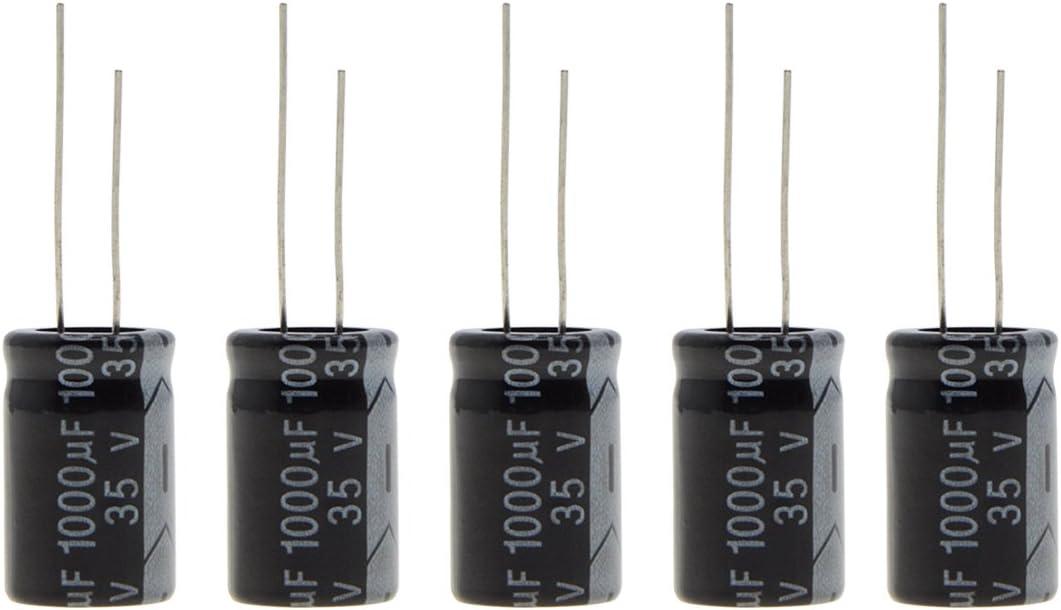 35uF 35V 105C Electrolytic Capacitors LOT OF 200pcs