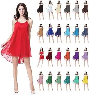 YIBEIANYU Ms. Chiffon Dress