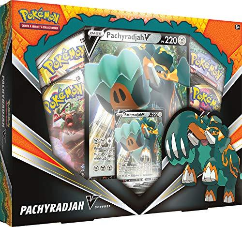 Pokemon Coffret Pachyradjah-V-Jeu de Cartes à Collectionner, POEBJU01