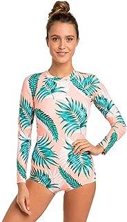 G Bomb Long Sleeve Back Zip UV Womens Swimsuit