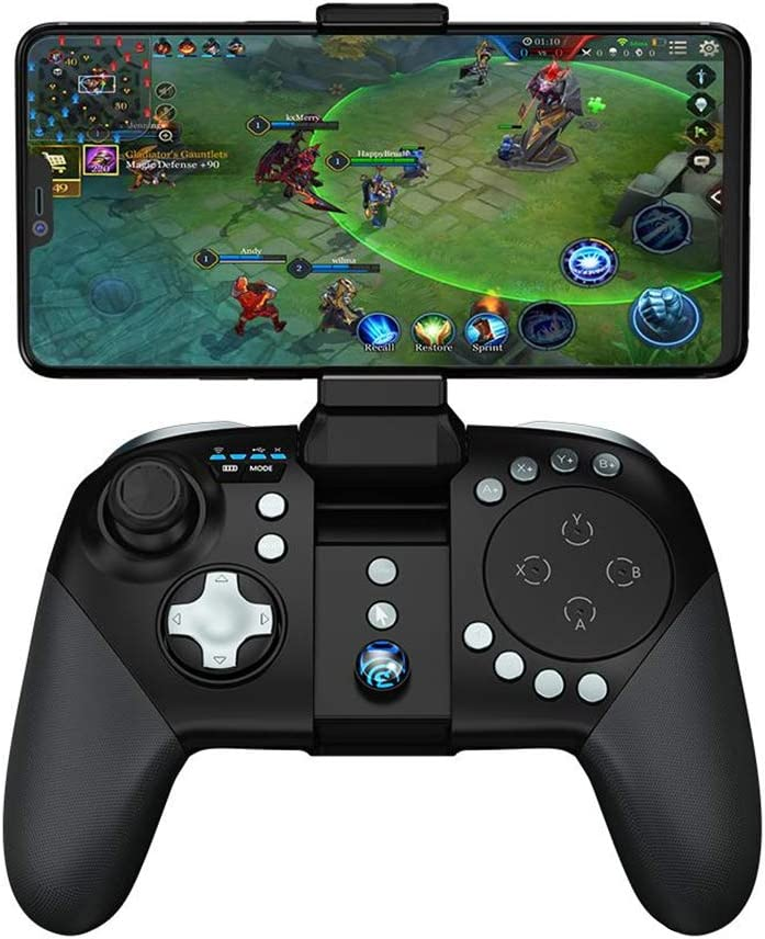 GameSir G5 (New Version) Bluetooth Wireless Game Controller with Trackpad Customizable Buttons for Android Smartphone/iPhone for PUBG MOBA Games