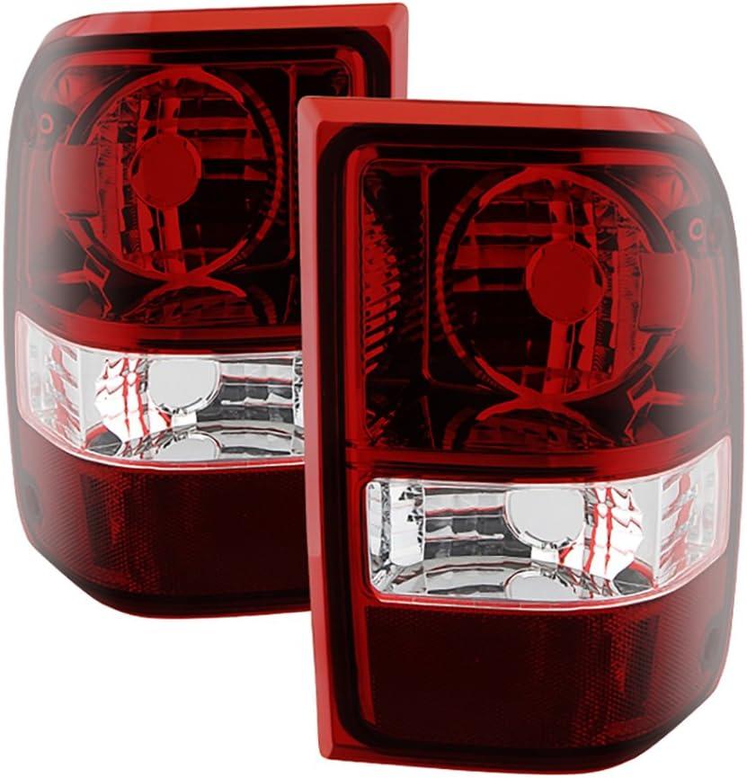Driver + Passenger Side New OE-Style Popular standard Tail Sale item Red Smoke Lens H Light