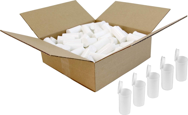 White Pop Top Long-awaited Bottles - 13 Dram o 1.63 Fl. Outlet SALE #PT13WH Set Oz.