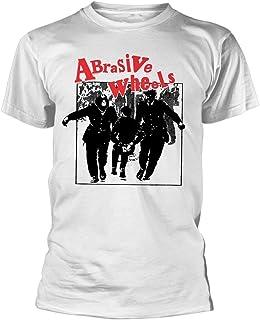 Abrasive Wheels T Shirt Juvenile Band Logo 新しい 公式 Punk メンズ Size L