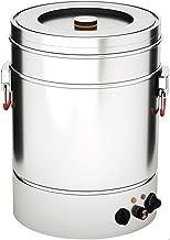 Heetwaterdispenser/drankverwarmer met grote capaciteit, Dubbellaagse roestvrijstalen wateremmer/theemok, Elektrische verwa...