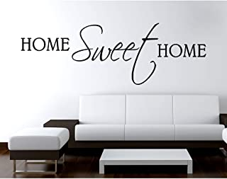 Adesivo Murale Wall Stickers Frase Citazione Adesivi Murali Decorazione interni Wall stickers Frase Home Sweet Home - Misu...