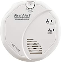 First Alert SCO5 Combination Optical Smoke Alarm & Carbon Monoxide Detector, AA Battery Powered