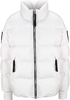 Moose Knuckles Luxury Fashion Womens M39LJ147160 White Down Jacket | Fall Winter 19