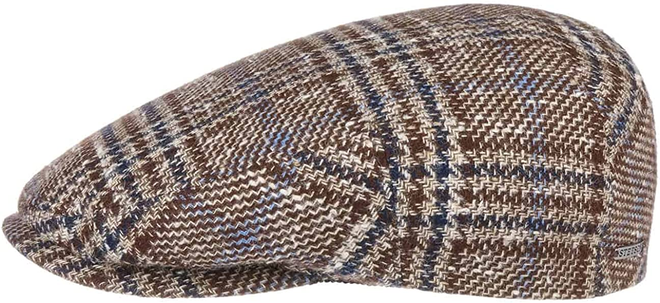 Stetson Kent Check Cashmere Silk Flat in - Men trust Made 40% OFF Cheap Sale Germany Cap
