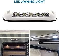 VISLONE Luces LED 12V DC Luz para Caravana Exterior a Prueba de Agua Polvo, Luces Exterior y Interior del Coche para Caravana, Yate, Coche,Camión, etc.